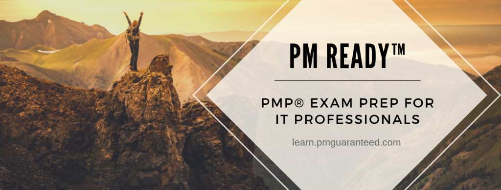 The PMP® Exam Prep for IT Professionals... and anyone else!  Our PMP® Exam Prep course includes 35+ hours of instruction plus a full simulator.
