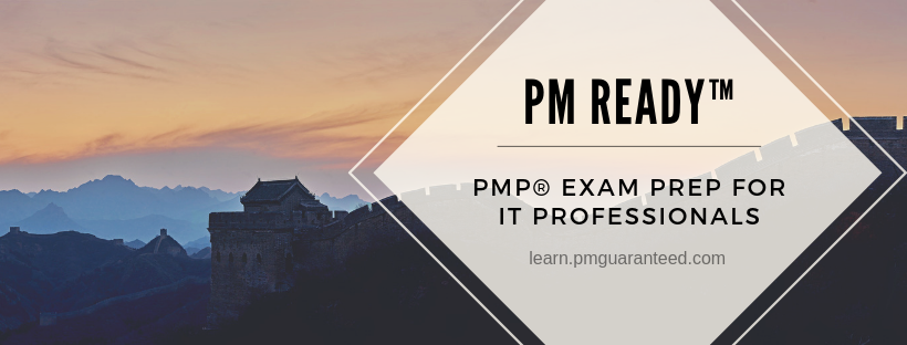 Click here to learn about my PMP® Preparation course, built for IT Professionals.