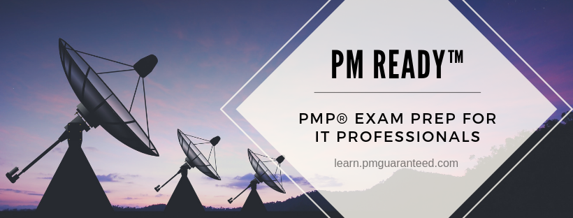 PM Ready™ is an Exam Prep Course created from the ground up for IT Professionals (although, anyone will benefit from this course!)  It includes the required 35 hours of formal project management education & a complete timed exam simulator with 1200+ questions!